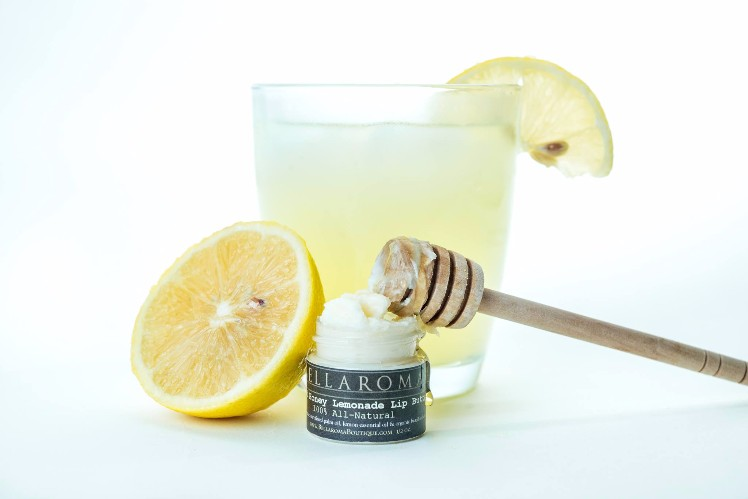 Potted Honey Lemonade Lip Butter-lemon,honey,lip butter,lip balm,lemonade,summer