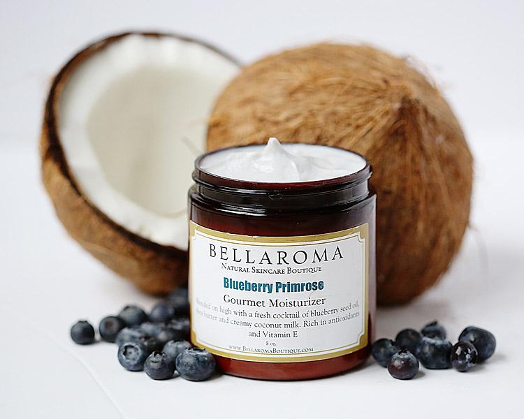 Blueberry Primrose Gourmet Moisturizer-blueberry,evening primrose,antiaging,mature,dry,skin,moisturizer,coconut milk