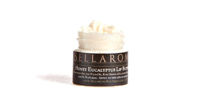 Potted Honey Eucalyptus Lip Butter-Honey Eucalyptus Lip Butter,chapstick,dry,winter,gift,christmas,potted,natural