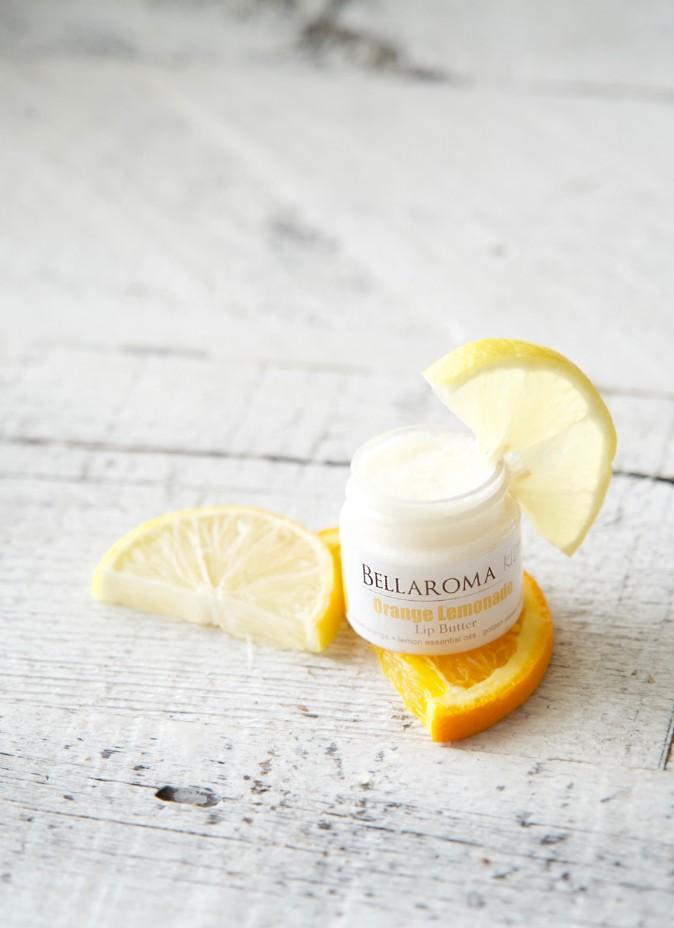 Orange Lemonade Lip Butter-orange,lemon,lemonade,lip,lips,balm,butter,kids,children,tween,teen,honey