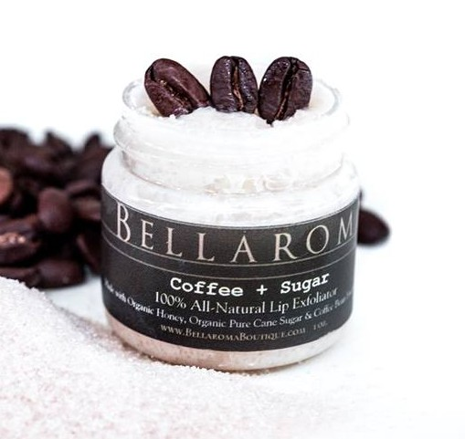 Coffee + Sugar Lip Exfoliator-coffee,sugar,lip exfoliator,lip scrub