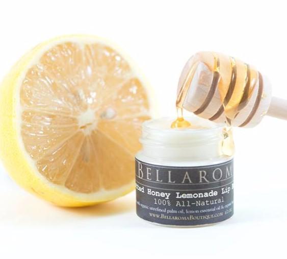 Potted Honey Lemonade Lip Butter