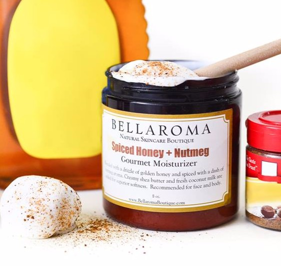Spiced Honey + Nutmeg Gourmet Moisturizer-gourmet moisturizer,honey,nutmeg,christmas,holiday,gifts,spice