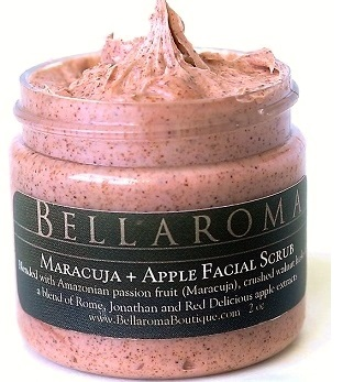 Maracuja + Apple Facial Scrub-Maracuja,Apple,Facial Scrub,natural fruits,amazonian,passionfruit,passion,fruit