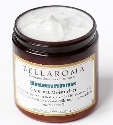 Blueberry Primrose Gourmet Moisturizer-blueberry,evening primrose,antiaging,mature,dry,skin,moisturizer,coconut milk