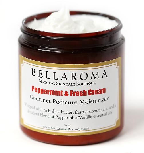 Peppermint + Fresh Cream Gourmet Moisturizer