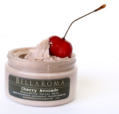 Cherry Avocado Nourishing Facial Mask-cherry,avocado,nourishing,healthy,glow,mask,facial,antioxidants,antiaging,vitamins,minerals