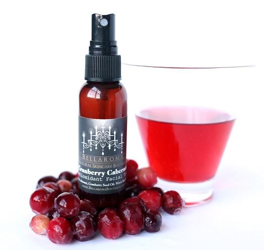 Cranberry Cabernet Antioxidant Facial Toner