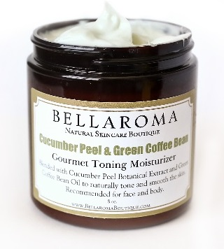Cucumber Peel + Green Coffee Bean Gourmet Toning Moisturizer