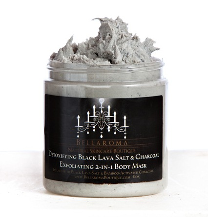 Detoxifying Black Lava Salt + Charcoal Body Mask-Detoxifying Black Lava Salt Charcoal Body Mask,minerals,vegan,bamboo,hand,lavender,foot,feet