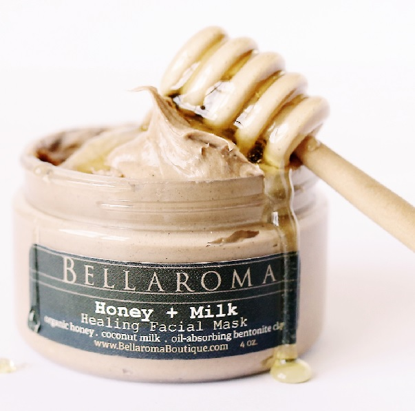 Honey + Milk Healing Facial Mask