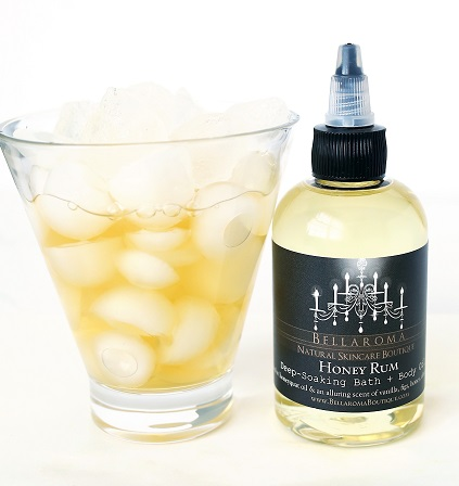 Honey Rum Deep-Soaking Bath + Body Oil