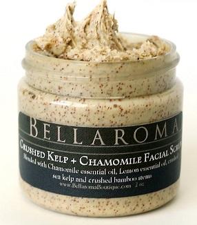Crushed Kelp + Chamomile Facial Scrub