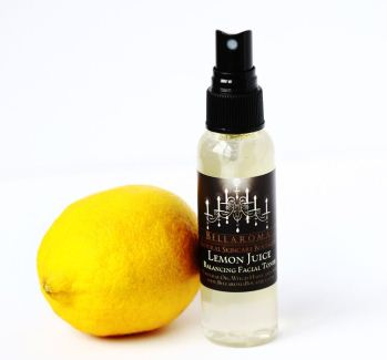Lemon Juice Balancing Facial Toner-lemon juice balancing facial toner,oily,combination skin,apple cider vinegar,organic