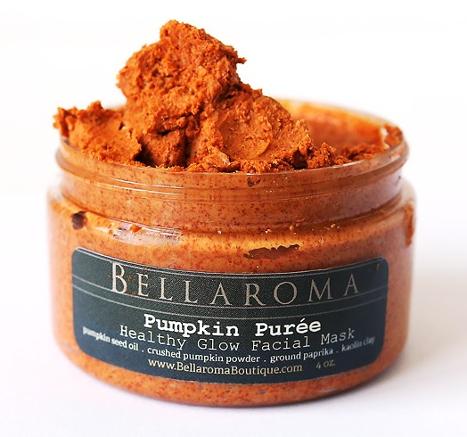 Pumpkin Pur�e  Healthy Glow Facial Mask-fall,autumn,mask,facial,pumpkin puree,vanilla,carrot,nutmeg,peel,nourishing,glow,natural,organic,vegan,healthy,brightening,fall