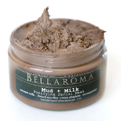 Mud + Milk Purifying Facial Mask-Mud,Milk,Facial Mask,Cocoa Absolute,Chocolate,coconut milk,Mineral Sea Clay,Martha Stewart,vegan,coconut milk,hydrating,detox,moisturizing,vegan,deep cleansing,dead sea