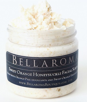 Sweet Orange Honeysuckle Facial Scrub