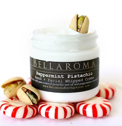 Peppermint Pistachio Whipped Creme-peppermint,pistachio,holiday,winter,christmas,stocking stuffer,gifts,gift
