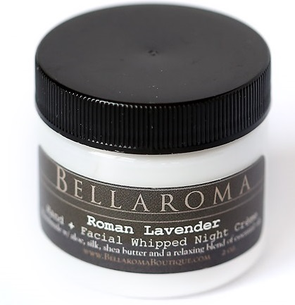 Roman Lavender Whipped Night Creme-Snooze,Roman,Chamomile,Ylang Ylang,Lavender,essential oils,night cream,facial,face,vegan,hands,relaxation