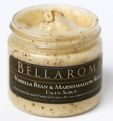 Vanilla Bean + Marshmallow Root Facial Scrub